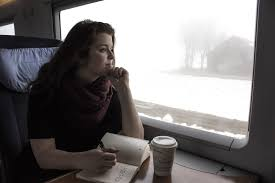 writing on train 3